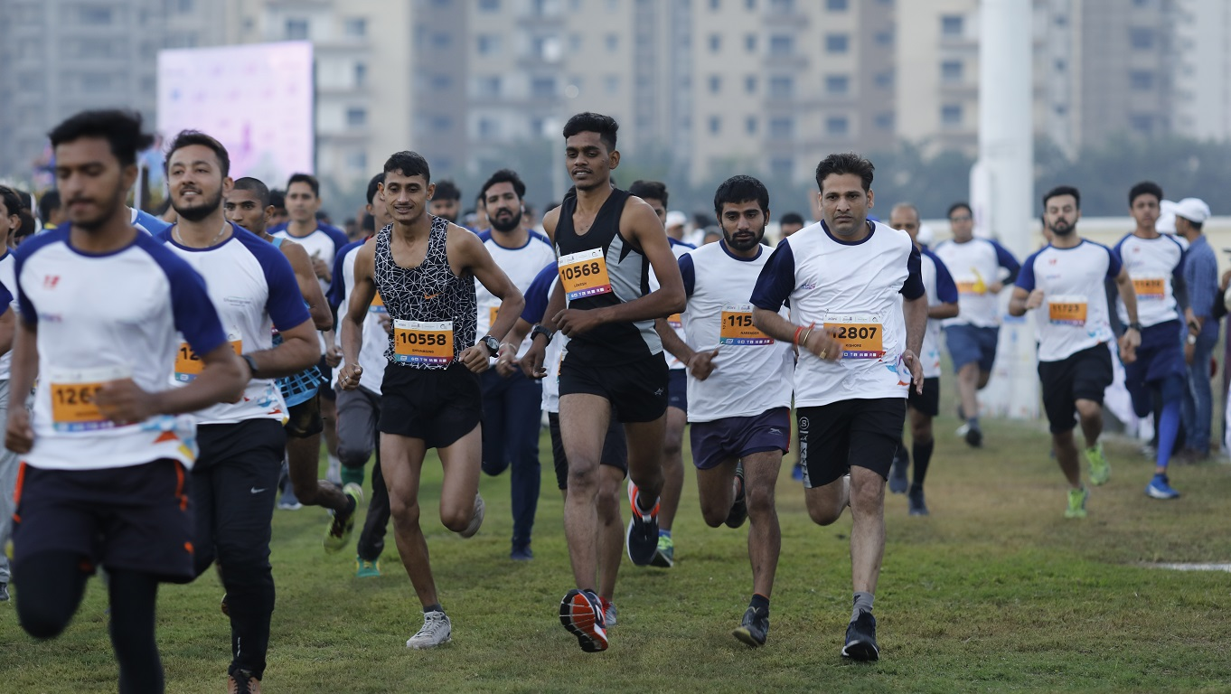 Adani Ahmedabad Marathon - #Run4OurSoldiers